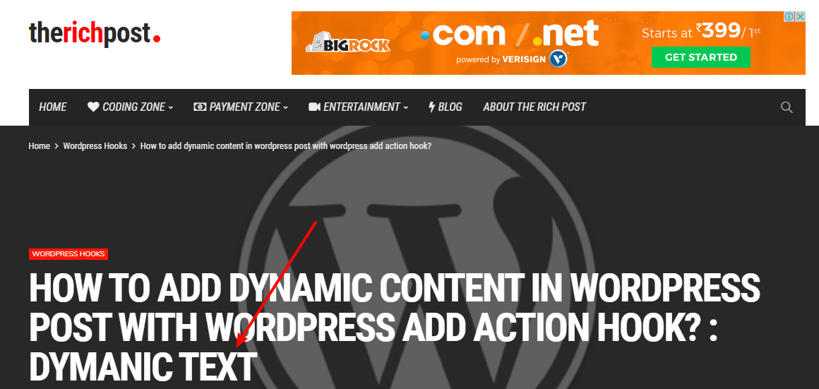 Add dynamic text to wordpress post title after and before