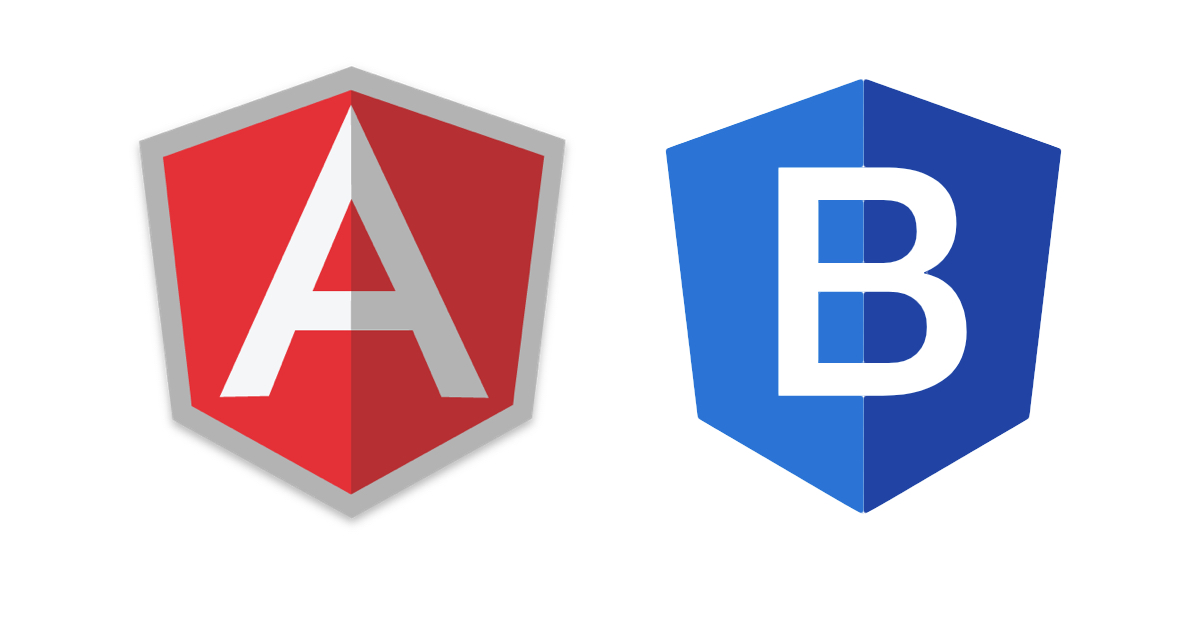 How to make business template with Bootstrap 4 and Angular 9?