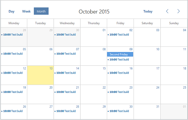 Open FullCalendar Onselect date on datepicker - therichpost