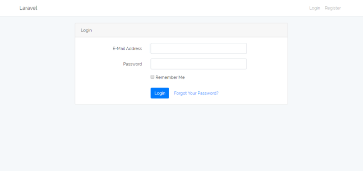 How to Setup Laravel Default Login Authentication? - therichpost