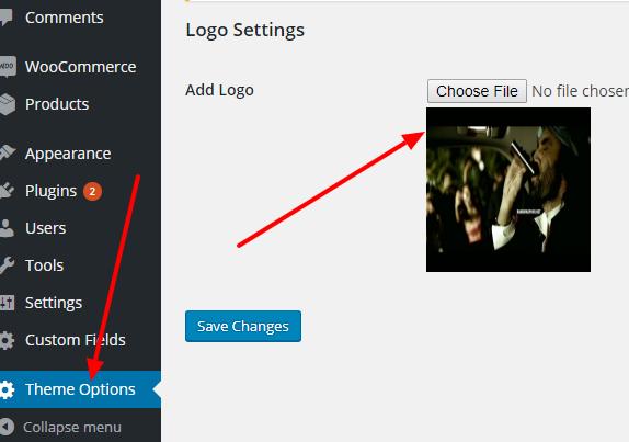 wordpress-custom-logo-option