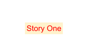 story_one