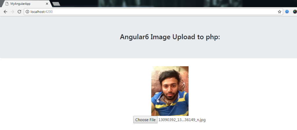 Angular Image Upload With Preview and save to folder with