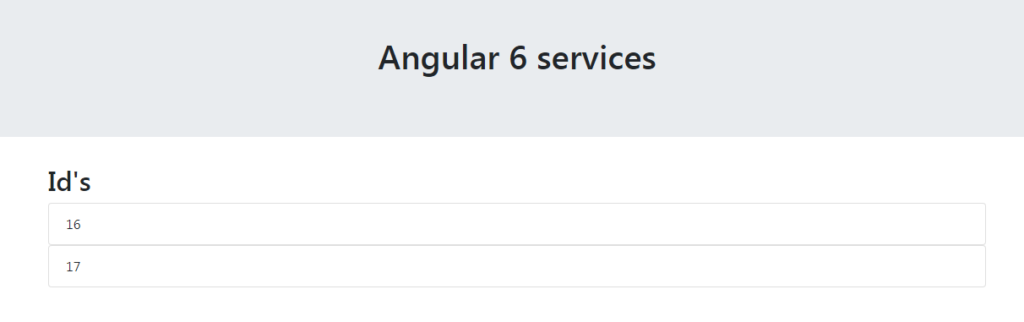 How Angular 6 Service Works