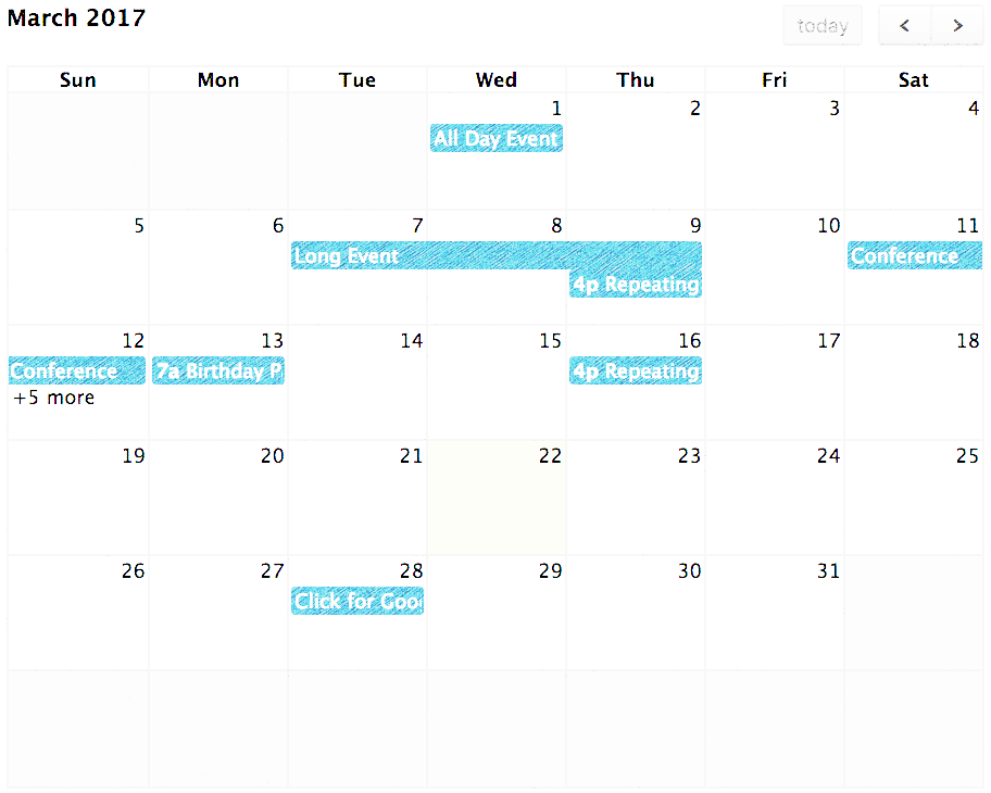How to Include Full calendar in Angular 6?
