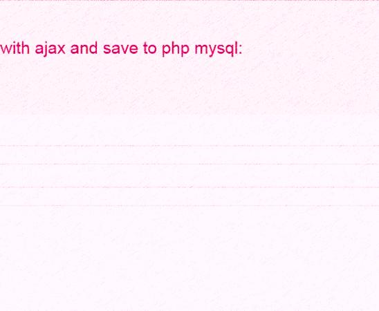 html_ajax_php_mysql