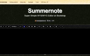 summernote_text_laravel