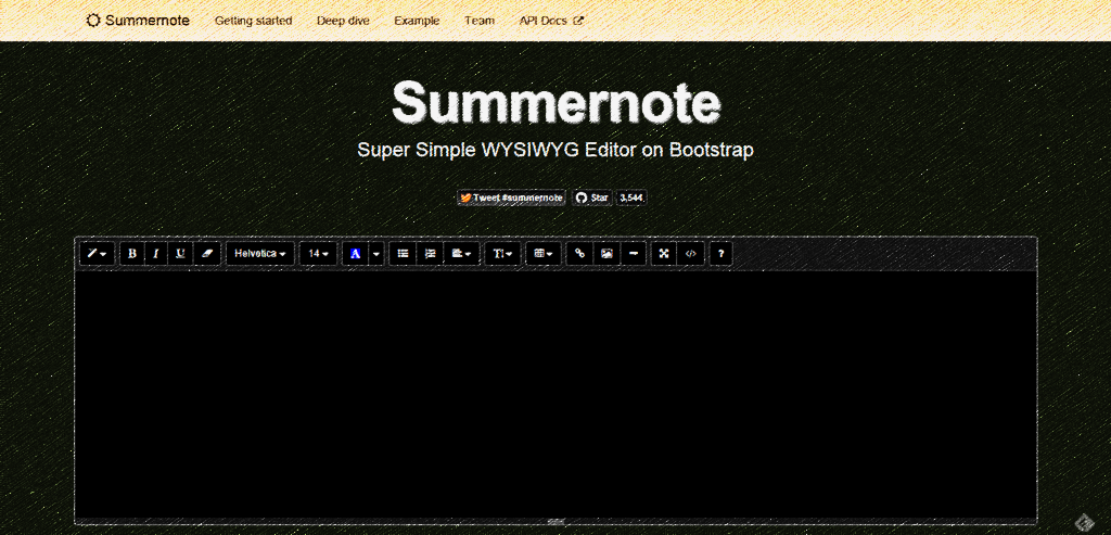 Laravel - WYSIWYG Editor Summernote With Dynamic Content