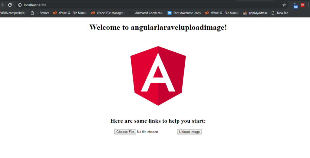 How to upload image with Laravel Angular?