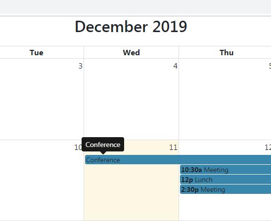 Angular 8 fullcalendar event tooltip