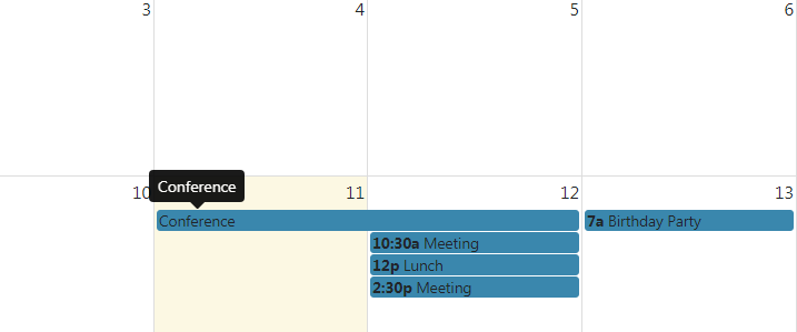 angular 8 bootstrap tooltip on fullcalendar event hover