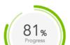 Angular 8 circle progress bar during api call