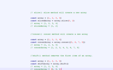 Javascript Array methods cheat sheet part - 2