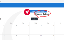 angular 10 fullcalendar add custom button
