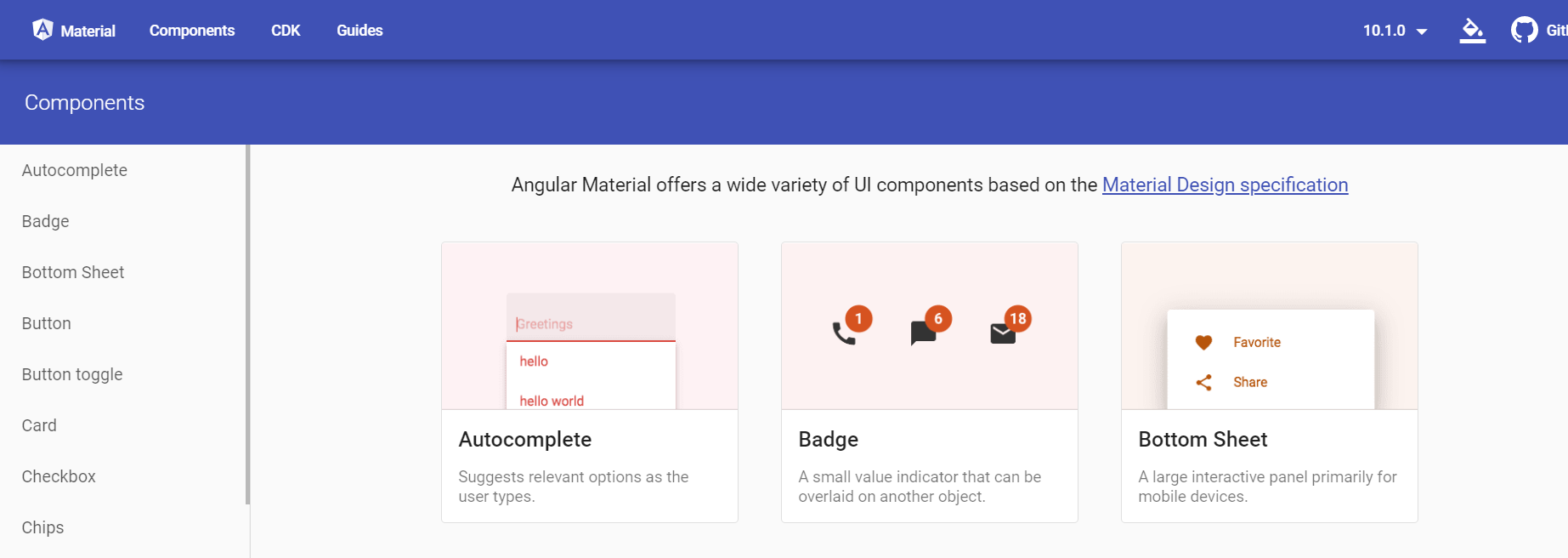 How to add angular material into our angular 10 application?