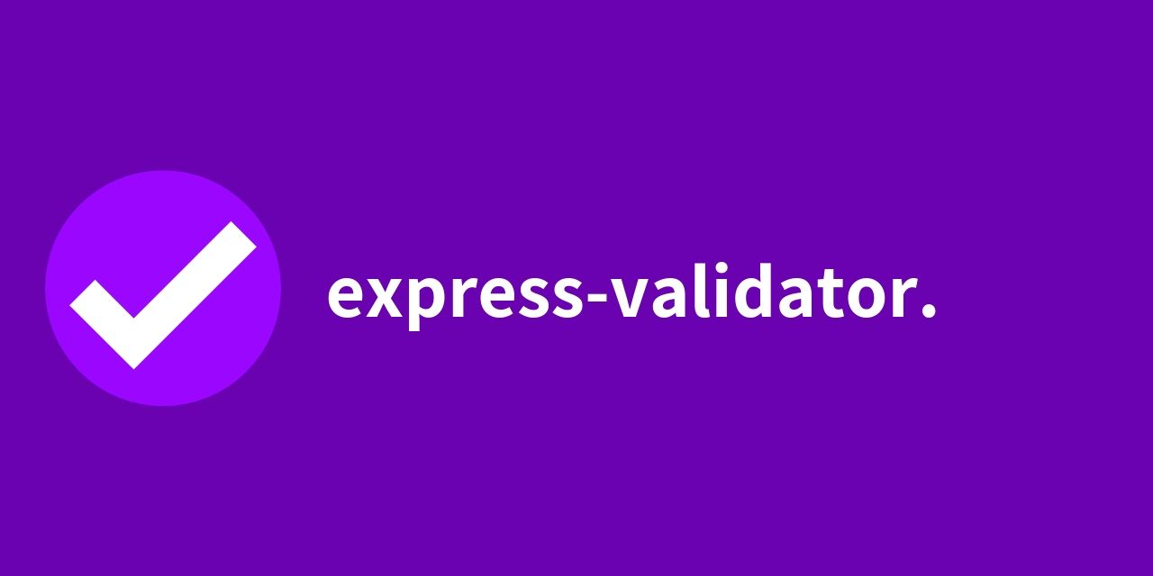 Nodejs express routes with express validatiors