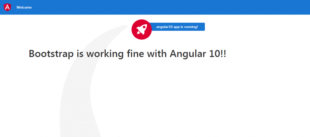Add bootstrap in angular