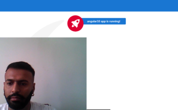 angular 10 webcam access