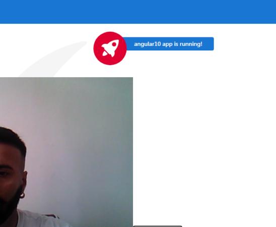 angular 10 webcam access