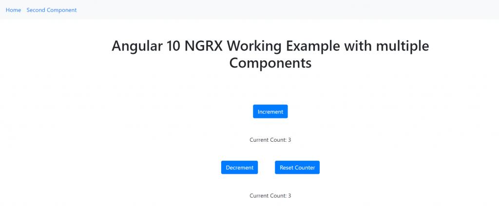 Angular ngrx store data sharing