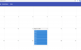 Angular 10 FullCalendar with Event Popover Working Example