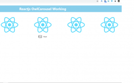 Reactjs Owl Carousel Working Tutorial