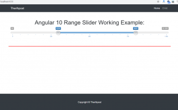 Angular 10 Range Slider Working Tutorial
