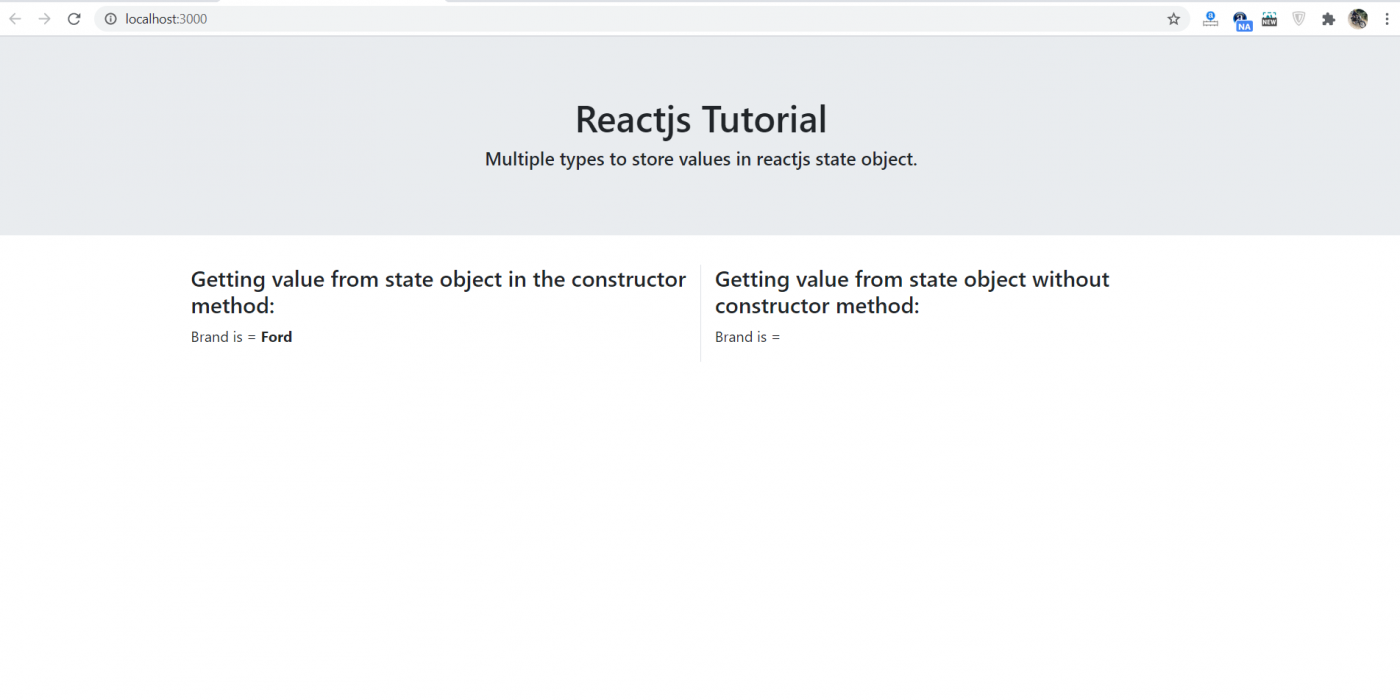 Multiple Types to Store Values in Reactjs State Object