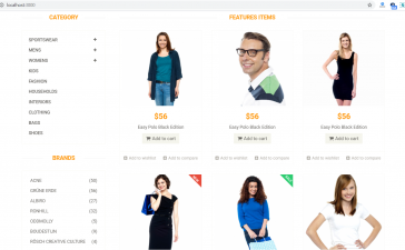 Reactjs Beautiful Ecommerce Template Free