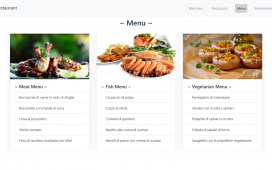 Reactjs Restaurant Template Free