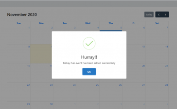 Angular 10 FullCalendar Add Event Demo Part 3 with Source Code