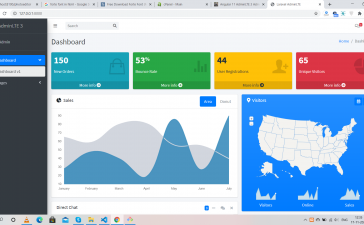 Laravel 8 AdminLTE 3 Admin Dashboard Working with Source Code