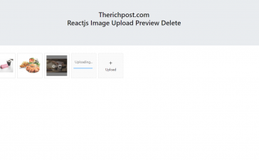 Reactjs Multiple Images Upload with Preview and Delete