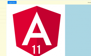 Angular 11 Responsive Sidebar Template Free
