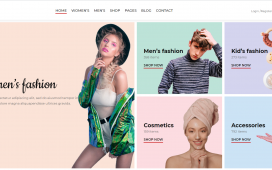 Angular 11 - Free Ecommerce Template for Fashion Website