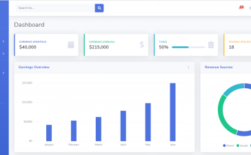 Vue 3 Admin Dashboard Template Free Download