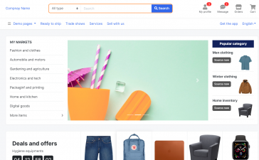 Vuejs - Multipurpose E-Commerce Template Free