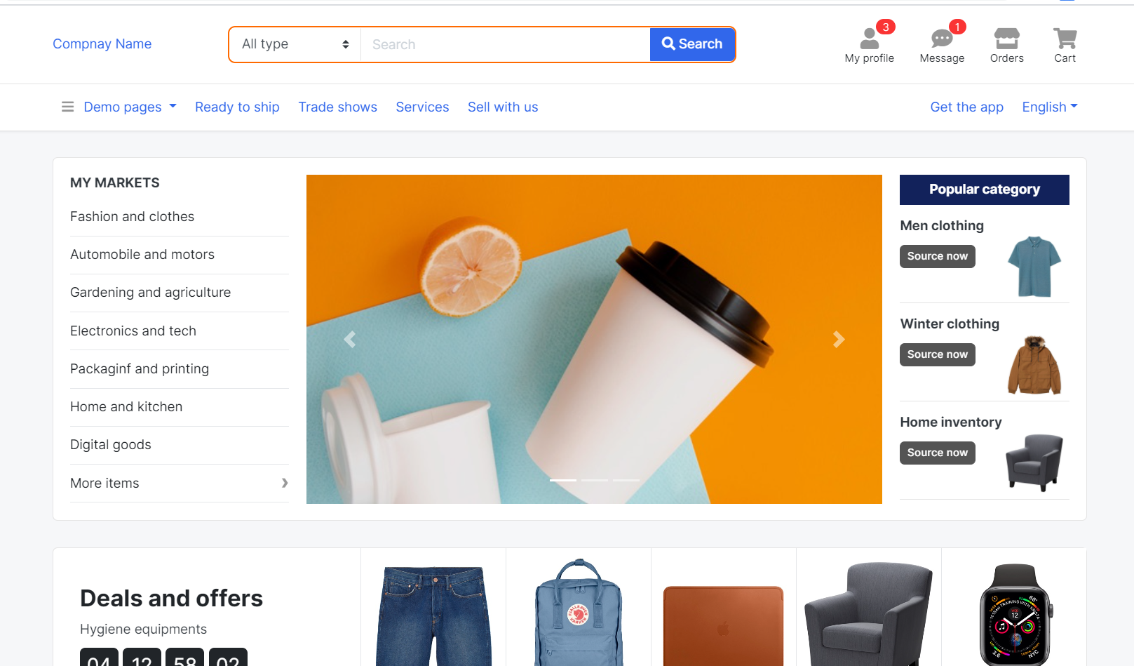 Angular 11 Bootstrap 4.5 Ecommerce Template Free