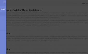 Angular 11 Collapsible Sidebar Using Bootstrap 4