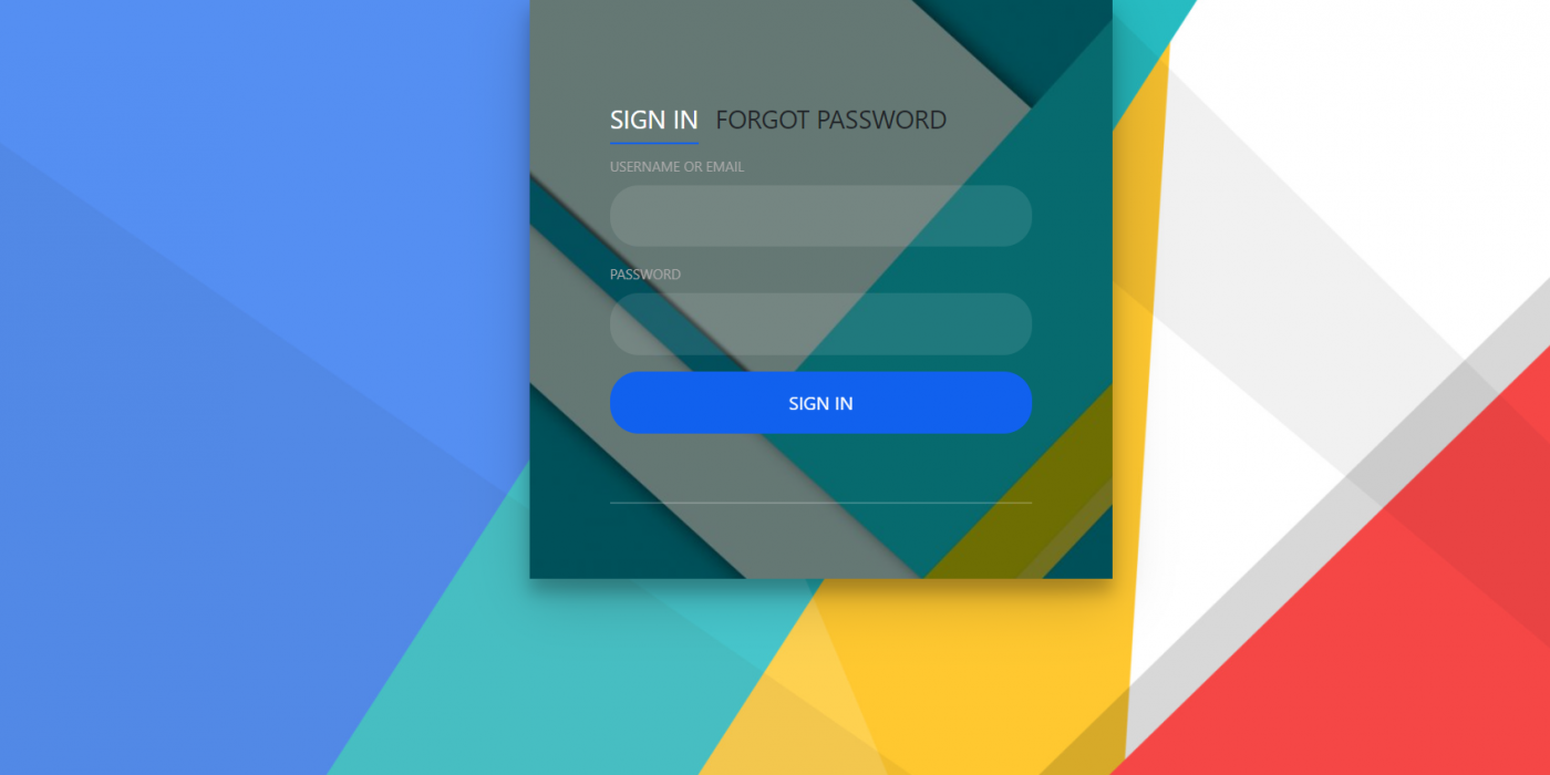 Angular 11 Sign In And Forgot Password Forms