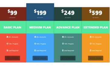 Reactjs Pricing Template Free