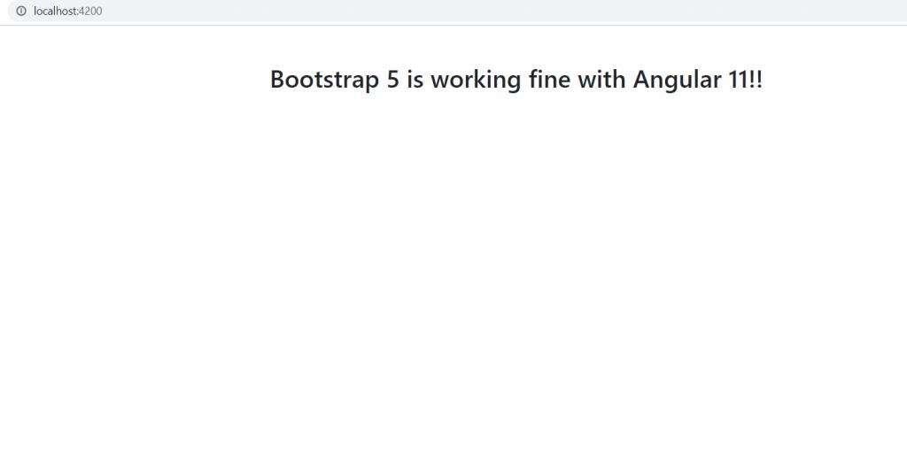 Bootstrap 5 Angular
