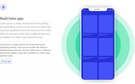 Angular 11 Animated App Landing Page Template