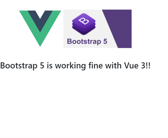 How to add bootstrap 5 in Vue 3 application?