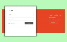 Vue 3 Animated Login & Registration Forms