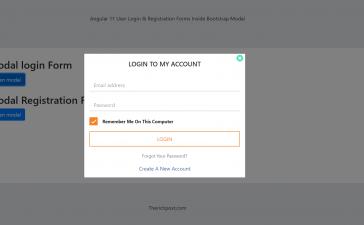 Vue 3 Login & Registration Forms inside Bootstrap Modal