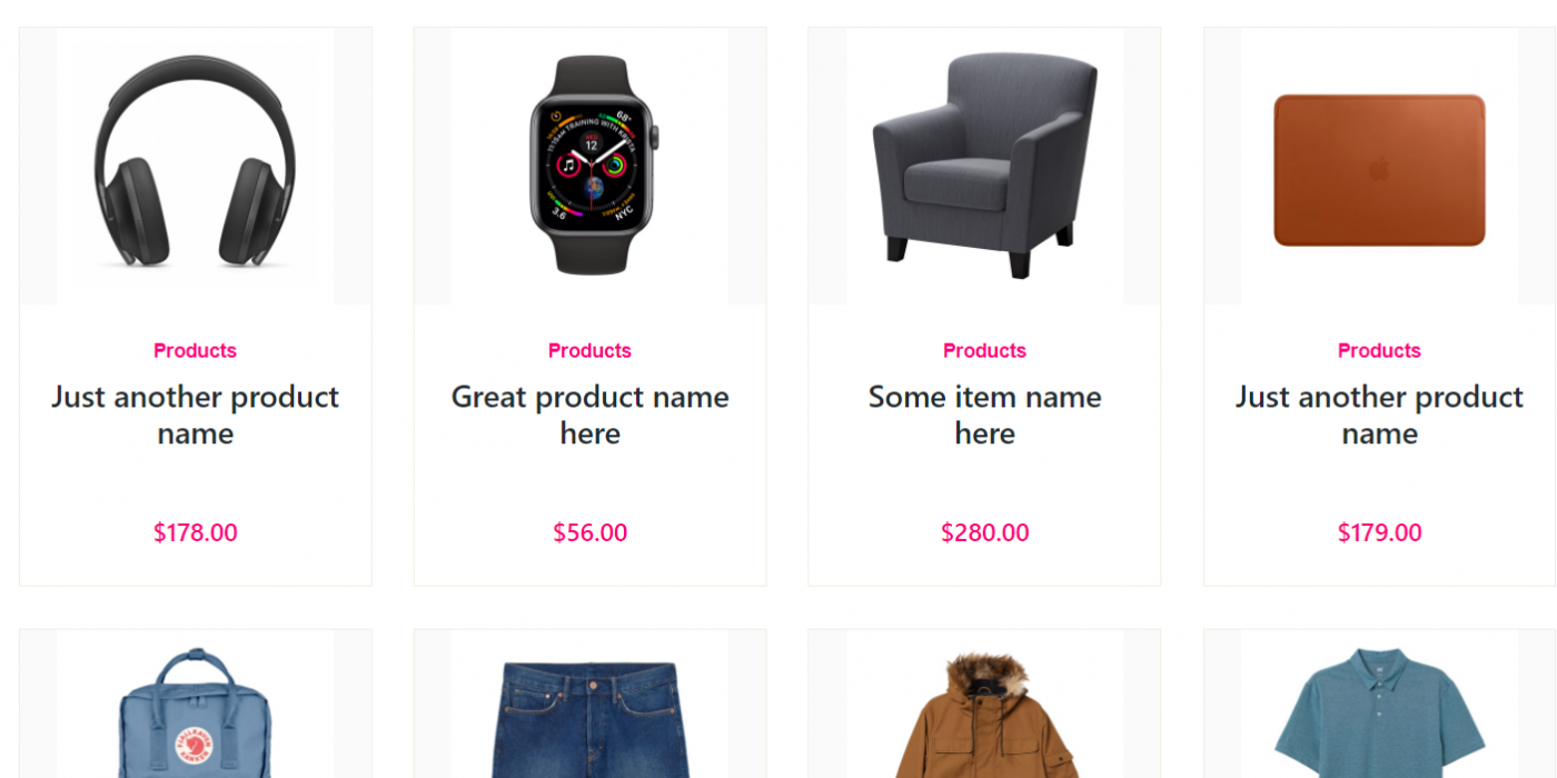 Vuejs - Vue 3 Animated Ecommerce Shop Page with Dynamic Products