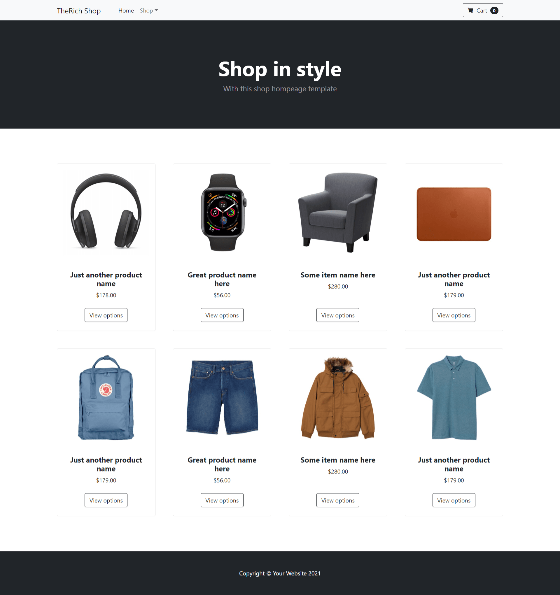 Angular 12 Bootstrap 5 Ecommerce Testing Project - Part 2