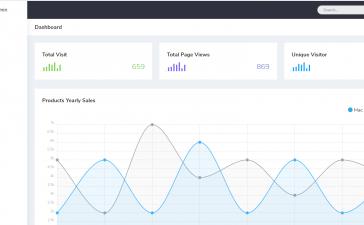 Laravel 8 Bootstrap 5 Admin Dashboard Template Free