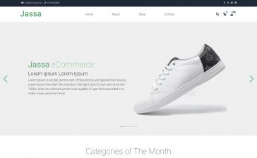 Laravel 8 Ecommerce Template Free - Jassa Shop